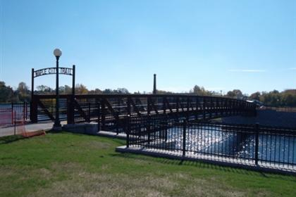 Maple City Trail Pedestrian Bridge 8