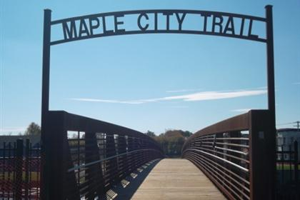 Maple City Trail Pedestrian Bridge 5