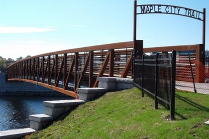 Maple City Trail Pedestrian Bridge 4