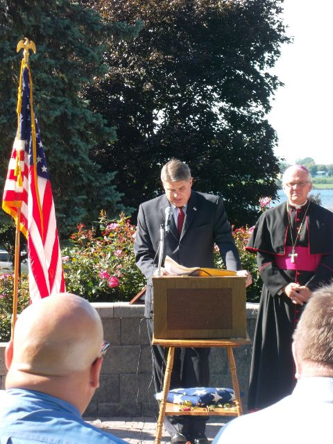 September 11 2011 Mayor and Bishop LaValley