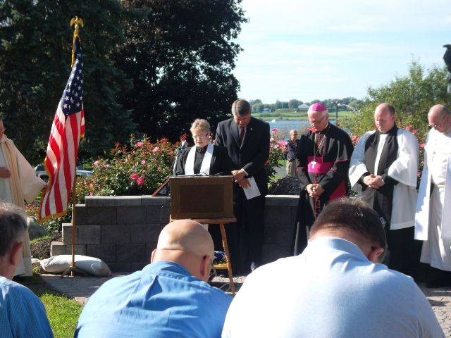Sept 11 2011 Rev Sullivan Delivers Benediction
