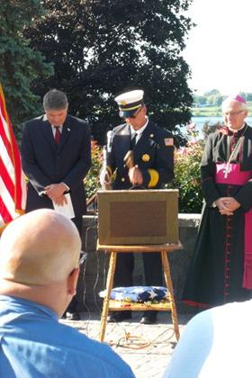 Sept 11 2011 Moment of Silence Ringing of the Bell