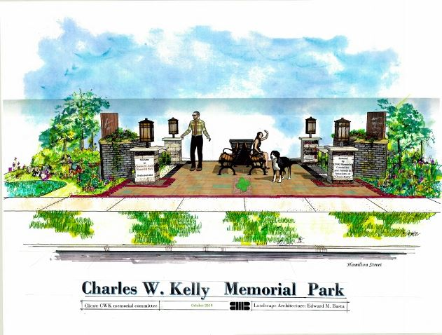 Kelly Memorial Park Landscaper's Drawing